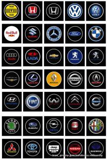 Все значки внедорожных легковых авто фото